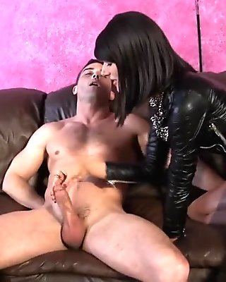 Last Cock of the Day ARENA ROME BALLBUSTING HANDJOB PANTYHOSE