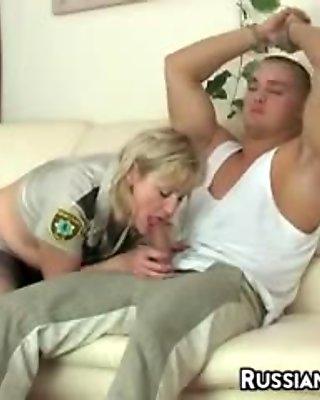 Russian Woman In Pantyhose