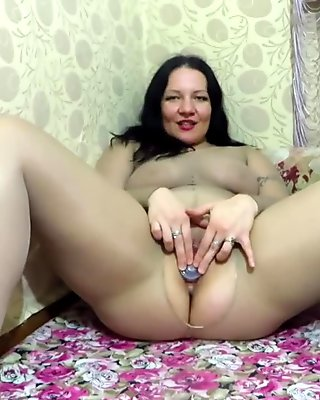 milf in nylon, handjob