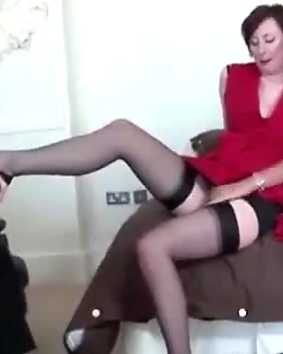 British ladies in stockings threesome