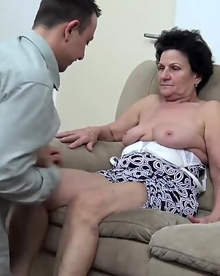 72 years aged unshaved grannie rough fucked