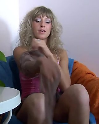 PantyhoseLine Scene: Nora and Adam