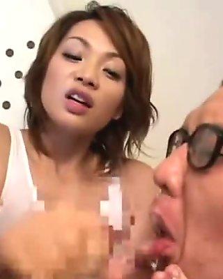 Mistress demands slave to eat fellow slave