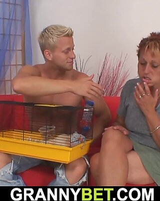 Dude Plays With Her Shaved Pussy