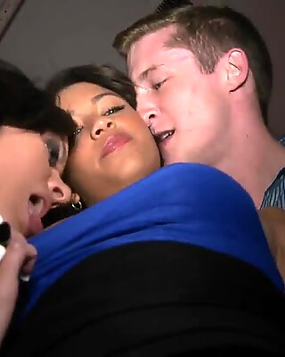 It is an amazing group sex in the new club in London